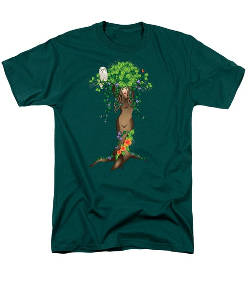 Mystical Maiden Tree Men's T-Shirt  (Regular Fit) by Serena King