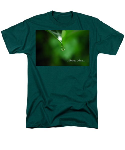Natures Tear Men's T-Shirt  (Regular Fit)