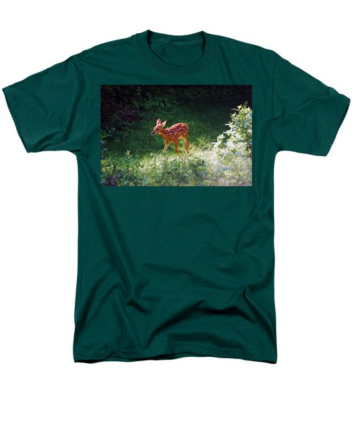 New Backyard Visitor Men's T-Shirt  (Regular Fit)