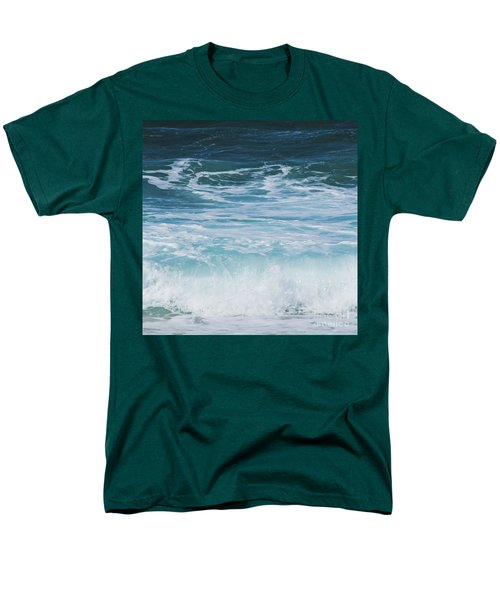 Ocean Waves From The Depths Of The Stars Men's T-Shirt  (Regular Fit) by Sharon Mau
