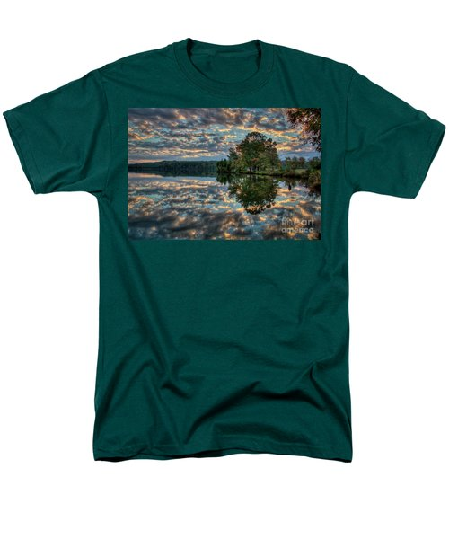 Men's T-Shirt  (Regular Fit) featuring the photograph October Skies by Douglas Stucky