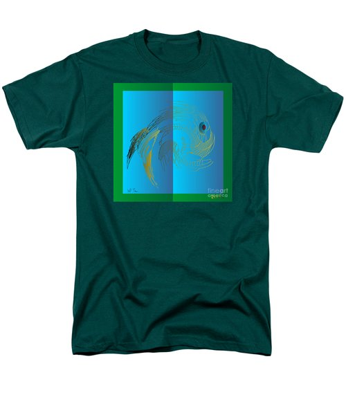 Men's T-Shirt  (Regular Fit) featuring the digital art On The Page 2015 by Leo Symon