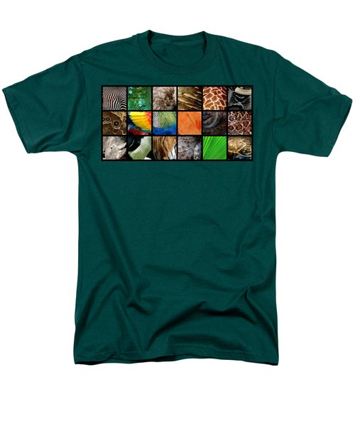 One Day At The Zoo Ll Men's T-Shirt  (Regular Fit) by Michelle Calkins