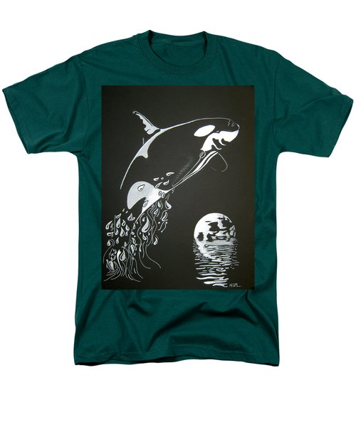 Orca Sillhouette Men's T-Shirt  (Regular Fit)