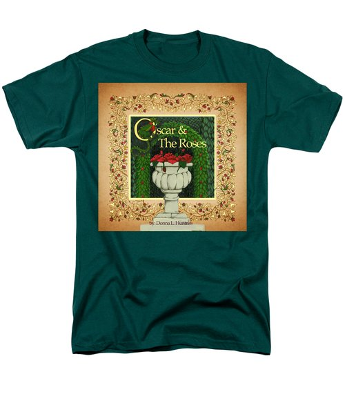 Oscar And The Roses Book Cover Men's T-Shirt  (Regular Fit) by Donna Huntriss