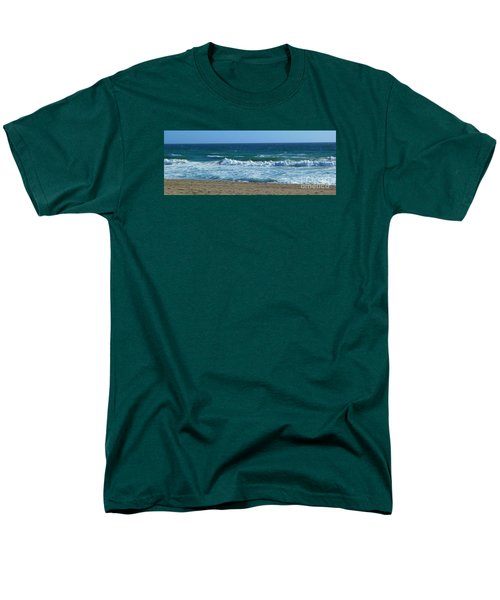 Pacific Ocean - Malibu Men's T-Shirt  (Regular Fit) by Nora Boghossian