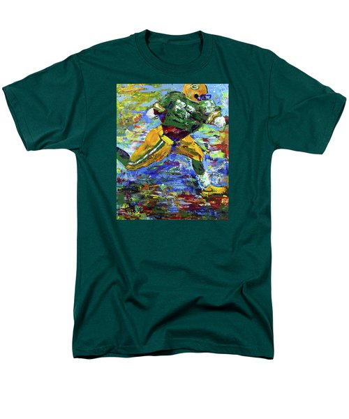 Paeddie Lacy Running For Td  Men's T-Shirt  (Regular Fit) by Walter Fahmy
