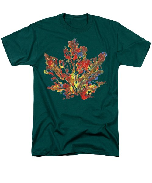 Men's T-Shirt  (Regular Fit) featuring the painting Painted Nature 1 by Sami Tiainen