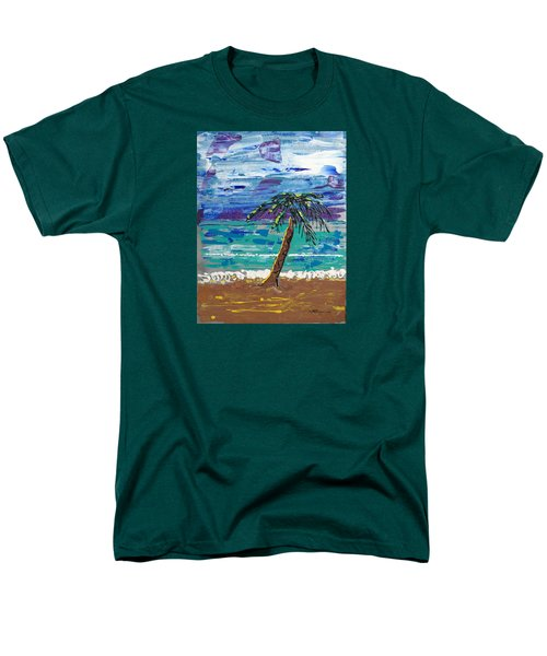 Palm Beach Men's T-Shirt  (Regular Fit) by J R Seymour