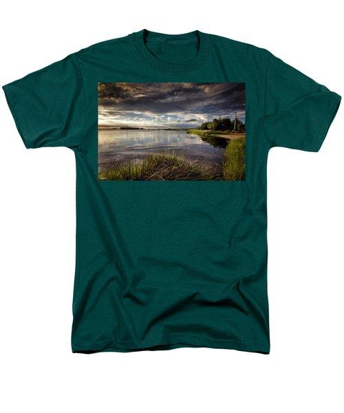 Peace Along The Cape Fear Men's T-Shirt  (Regular Fit) by Phil Mancuso
