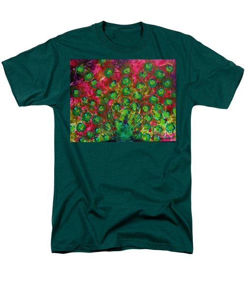 Peacock Impressions Men's T-Shirt  (Regular Fit) by Jeanette French