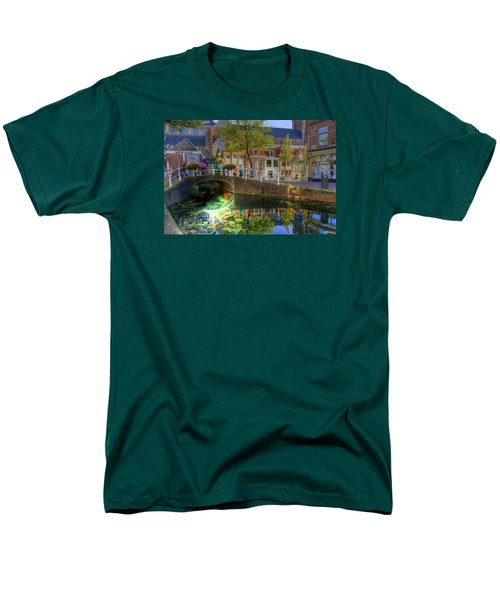 Men's T-Shirt  (Regular Fit) featuring the photograph Picturesque Delft by Uri Baruch