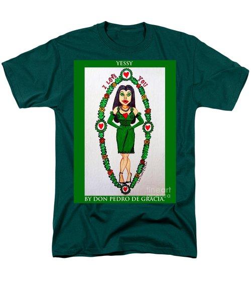 Yessy Men's T-Shirt  (Regular Fit) by Don Pedro De Gracia