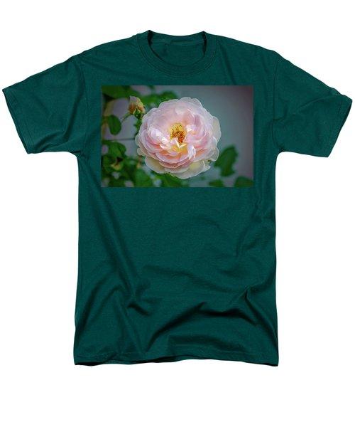 Pink Rose #c3 Men's T-Shirt  (Regular Fit) by Leif Sohlman