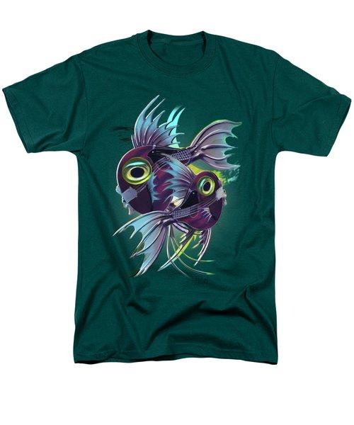 Pisces Men's T-Shirt  (Regular Fit) by Melanie D