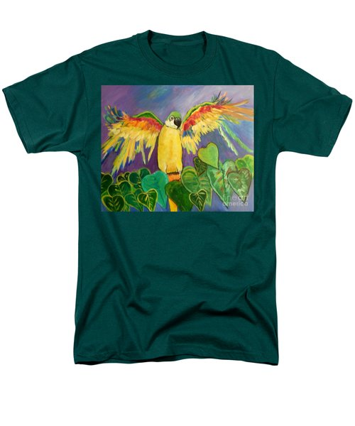 Polly Wants More Than A Cracker Men's T-Shirt  (Regular Fit) by Rosemary Aubut