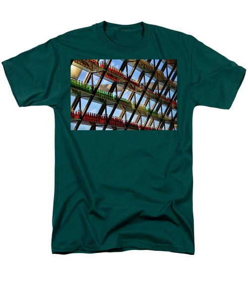 Pop's Bottles Men's T-Shirt  (Regular Fit)