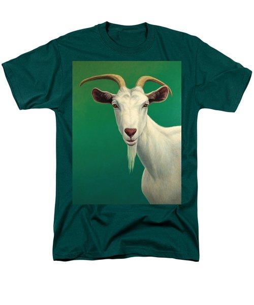 Portrait Of A Goat Men's T-Shirt  (Regular Fit) by James W Johnson