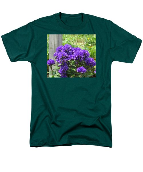 Purple In The Forest Men's T-Shirt  (Regular Fit) by Jeanette Oberholtzer