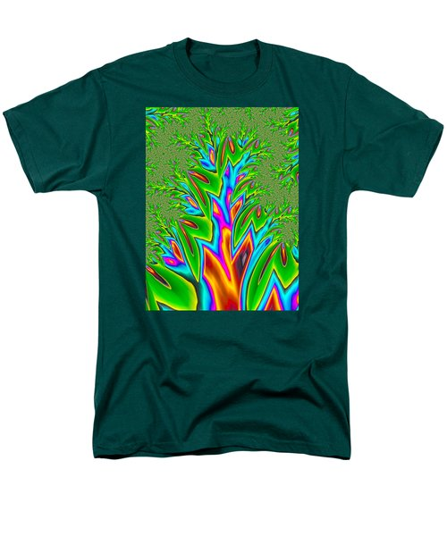 Men's T-Shirt  (Regular Fit) featuring the photograph Rainbow Tree by Ronda Broatch