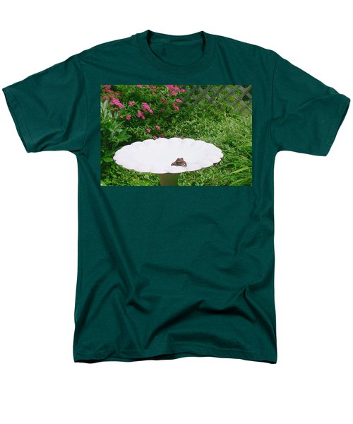 Men's T-Shirt  (Regular Fit) featuring the digital art Refreshing by Barbara S Nickerson