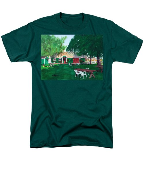 Retzlaff Winery Men's T-Shirt  (Regular Fit) by Mike Robles