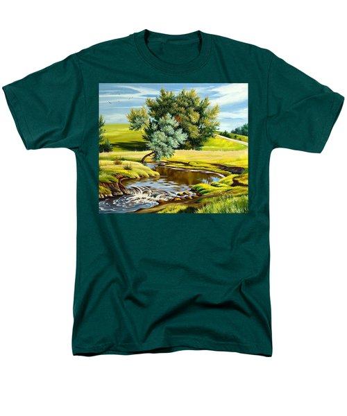 River Of Life Men's T-Shirt  (Regular Fit) by Karen Showell