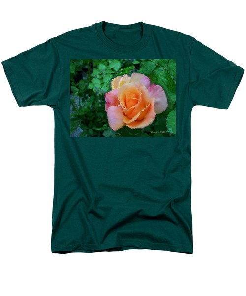 Men's T-Shirt  (Regular Fit) featuring the photograph Rose by Bonnie Willis
