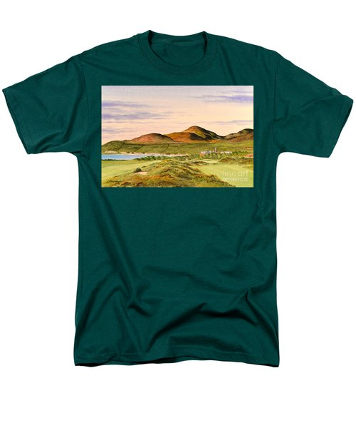 Royal County Down Golf Course Men's T-Shirt  (Regular Fit) by Bill Holkham