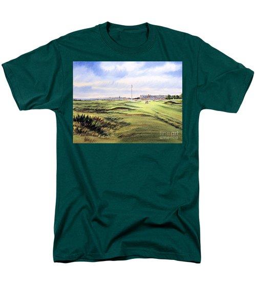 Royal Troon Golf Course Men's T-Shirt  (Regular Fit) by Bill Holkham