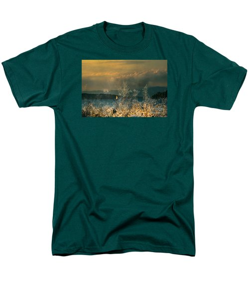 Men's T-Shirt  (Regular Fit) featuring the photograph Sailing On The Winnipesaukee by Mim White