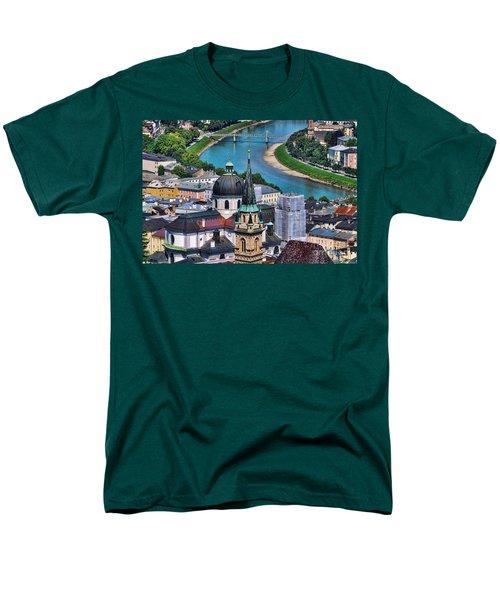 Salzburg Austria Europe Men's T-Shirt  (Regular Fit) by Sabine Jacobs