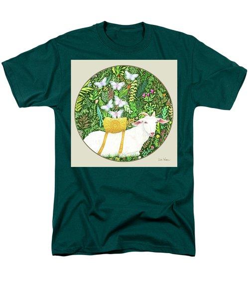 Scapegoat Button Men's T-Shirt  (Regular Fit) by Lise Winne
