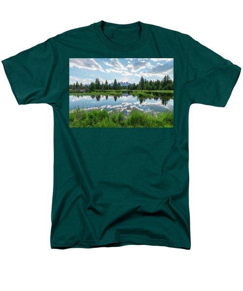 Men's T-Shirt  (Regular Fit) featuring the photograph Schwabacher's Landing by Dustin LeFevre