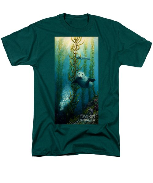 Seals Of The Sea Men's T-Shirt  (Regular Fit) by Ruanna Sion Shadd a'Dann'l Yoder
