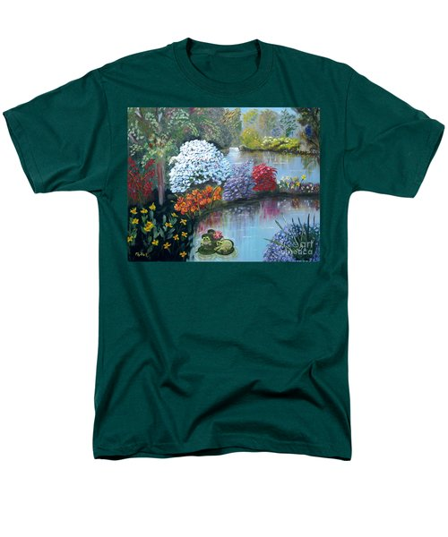 Secret Garden Men's T-Shirt  (Regular Fit) by Phyllis Kaltenbach