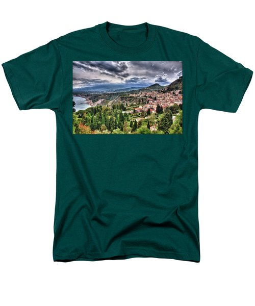 Sicilian Coast Men's T-Shirt  (Regular Fit) by Patrick Boening