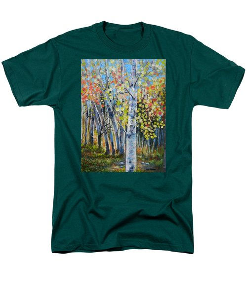 Signs Of Autumn Men's T-Shirt  (Regular Fit) by Patti Gordon