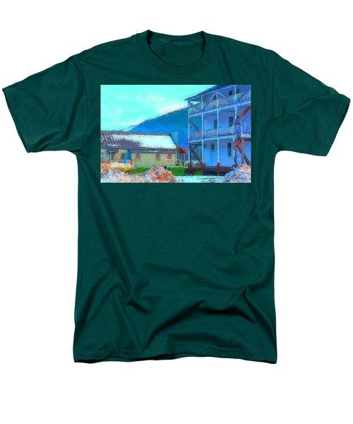 Skykomish  Men's T-Shirt  (Regular Fit) by Tobeimean Peter