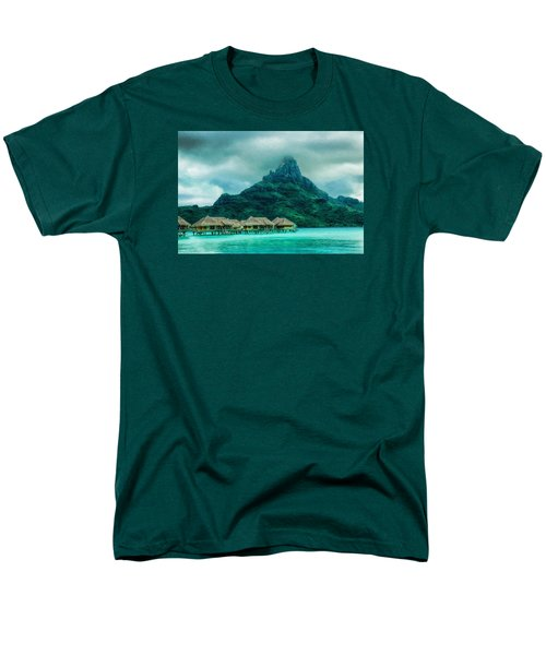 Men's T-Shirt  (Regular Fit) featuring the photograph Solitude In Bora Bora by Gary Slawsky