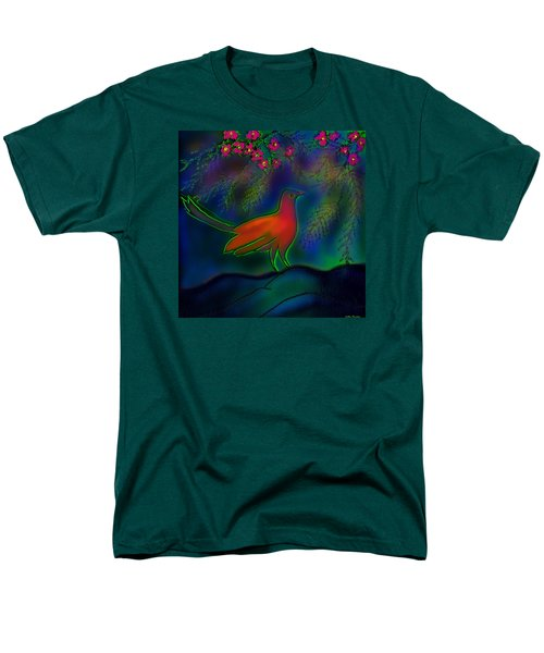 Men's T-Shirt  (Regular Fit) featuring the digital art Songs Of Forest by Latha Gokuldas Panicker