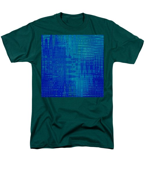 Sounds Of Blue Men's T-Shirt  (Regular Fit) by Stephanie Grant