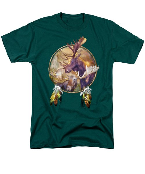 Spirit Of The Moose Men's T-Shirt  (Regular Fit) by Carol Cavalaris
