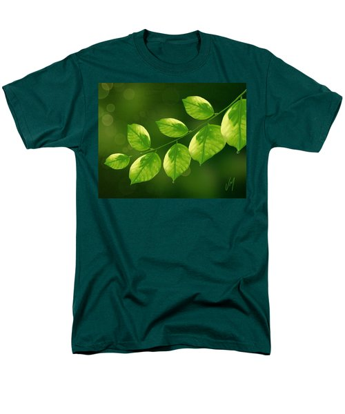Men's T-Shirt  (Regular Fit) featuring the painting Spring Life by Veronica Minozzi