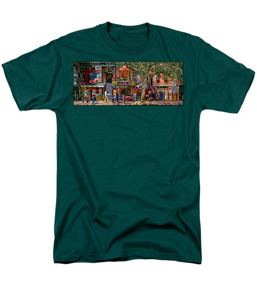 St Marks Place Men's T-Shirt  (Regular Fit) by Chris Lord