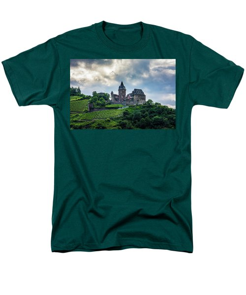 Men's T-Shirt  (Regular Fit) featuring the photograph Stahleck Castle by David Morefield