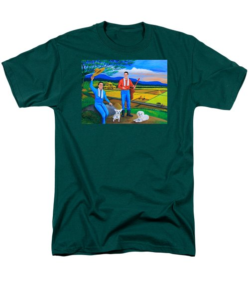 Summer View Men's T-Shirt  (Regular Fit) by Cyril Maza