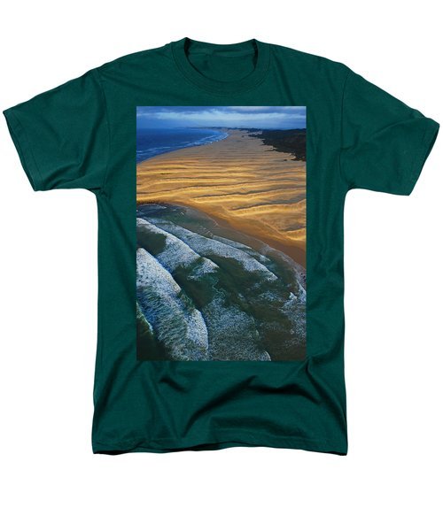 Men's T-Shirt  (Regular Fit) featuring the photograph Sun Rise Coast  by Skip Hunt