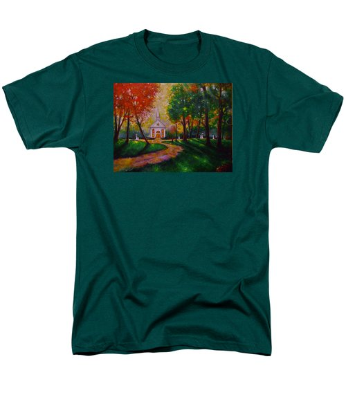 Men's T-Shirt  (Regular Fit) featuring the painting Sunday School by Emery Franklin