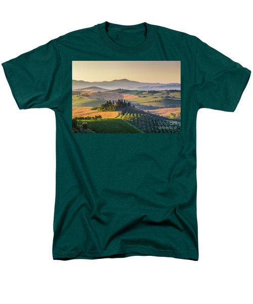 Sunrise In Tuscany Men's T-Shirt  (Regular Fit) by JR Photography